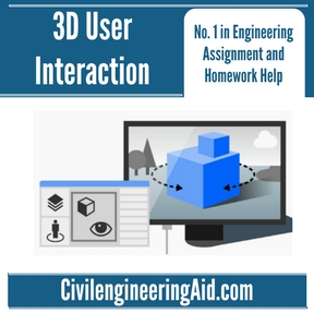 3D User Interaction Assignment Help