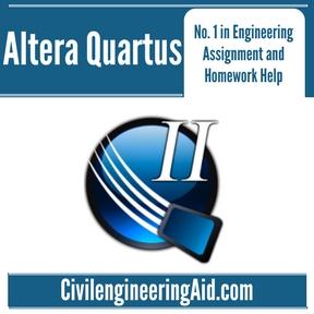 Altera Quartus Assignment Help
