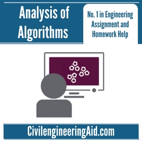 Analysis of Algorithms Assignment Help