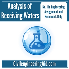 Analysis of Receiving Waters Assignment Help