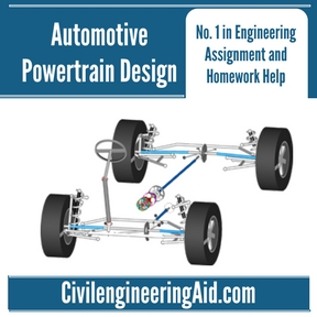 Automotive Powertrain Design Assignment Help