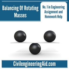 Balancing Of Rotating Masses Assignment Help