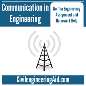 Communication in Engineering Assignment Help