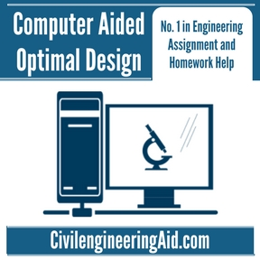 Computer Aided Optimal Design Assignment Help