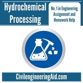 Hydrochemical Processing Assignment Help