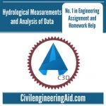 Hydrological Measurements and Analysis of Data