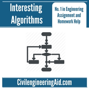 Interesting Algorithms Assignment Help