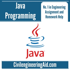 Java Programming Assignment Help
