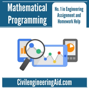 Mathematical Programming Assignment Help