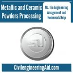 Metallic and Ceramic Powders Processing