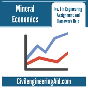 Mineral Economics Assignment Help