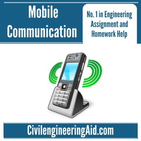 Mobile Communication Assignment Help