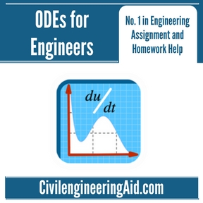 ODEs for Engineers Assignment Help