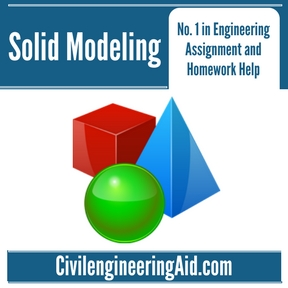 Solid Modeling Assignment Help