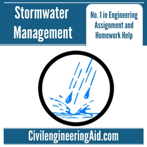 Stormwater Management Assignment Help