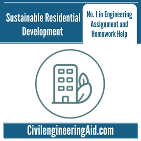 Sustainable Residential Development Assignment Help