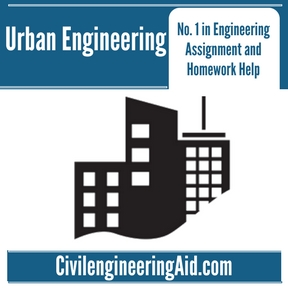 Urban Engineering Assignment Help