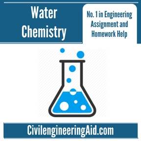 Water Chemistry Assignment Help