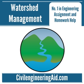 Watershed Management Assignment Help